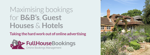 Maximising bookings for B&B's, Guest Houses & Hotels